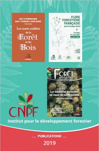 Catalogue 2019 des publications de l'IDF