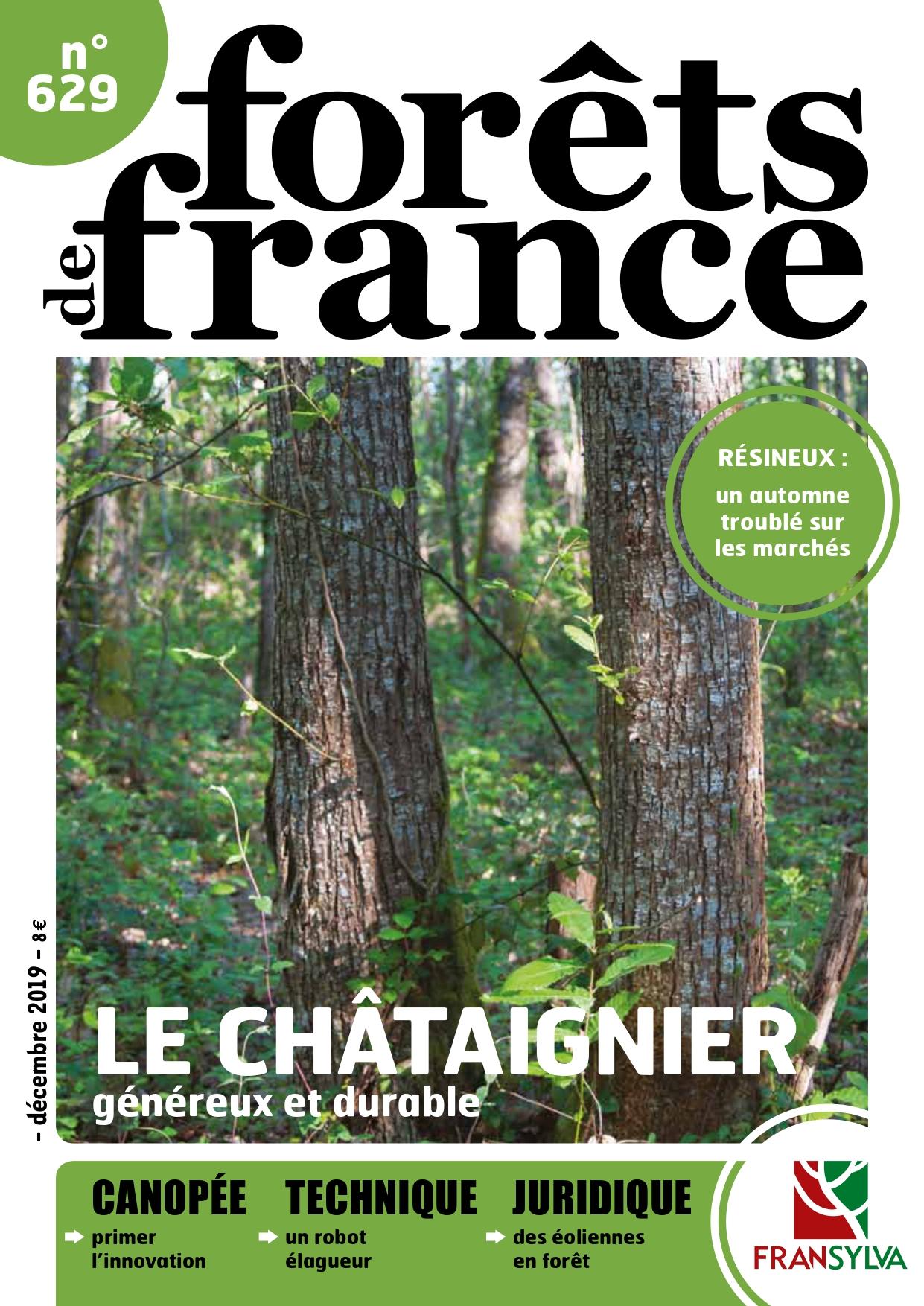 Couverture de Forêts de France n°629