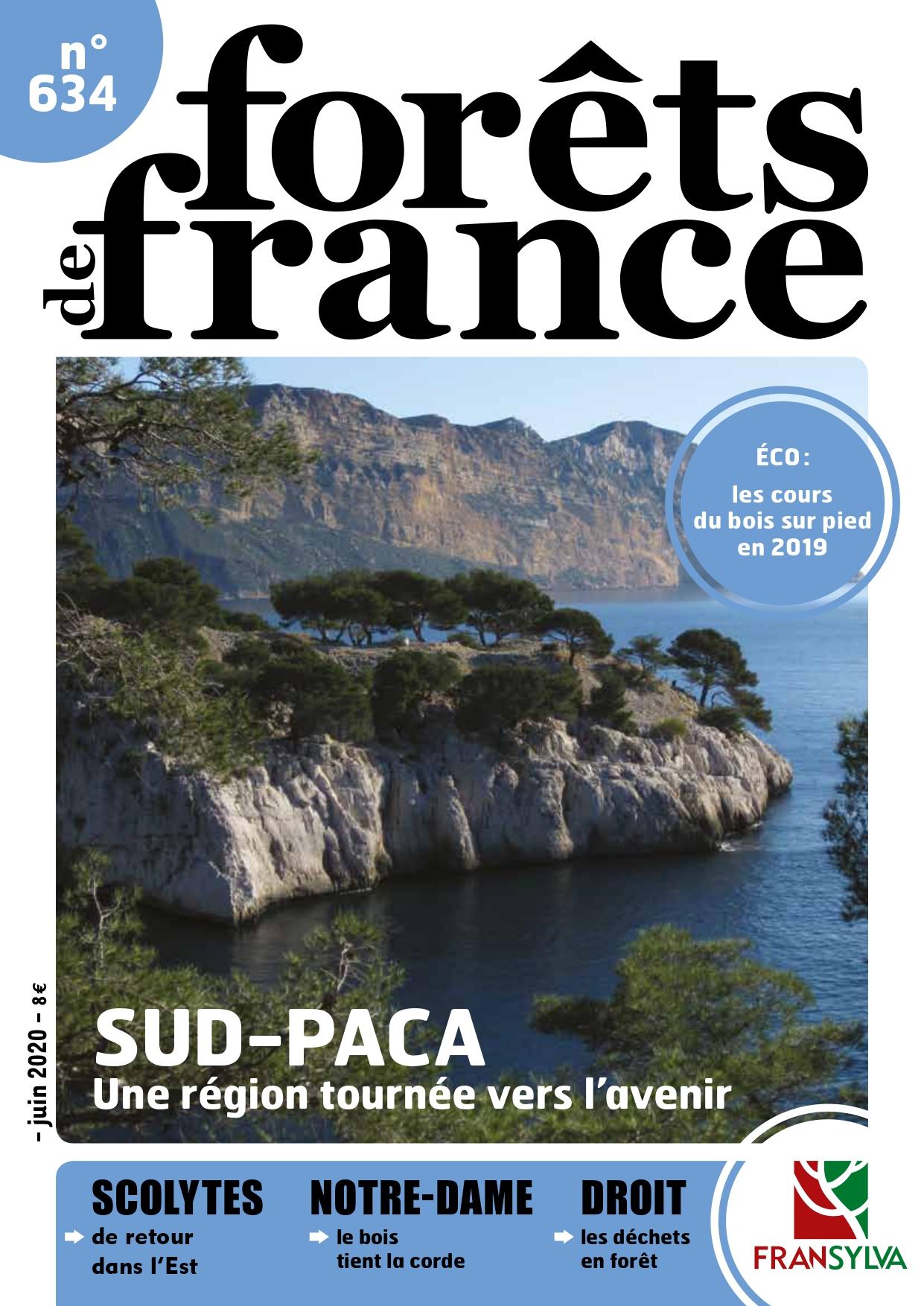 Couverture du numéro de Forêts de France
